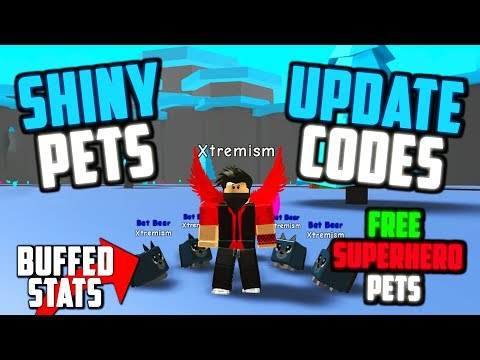 Download Update 6 Codes Shiny Superhero Pets New Eggs And