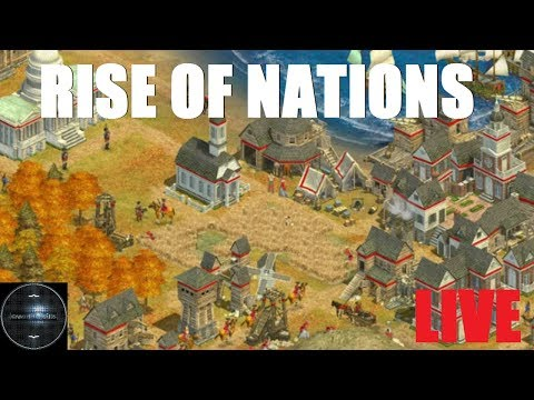 Rise of Nations LIVE - AI ellen, vagy Veletek