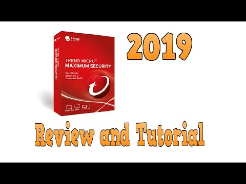 Trend Micro Maximum Security 2019 Review and Tutorial