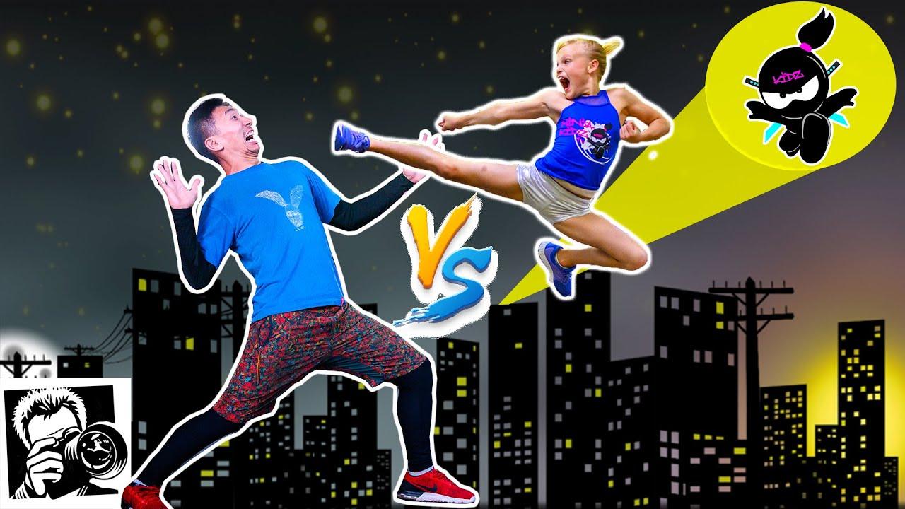 Download Ninja Kidz BATTLE in NYC! Photo Challenge with Jordan Matter!