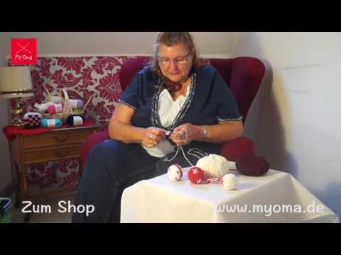 MyOma DIY Weihnachtskugeln - Grundmuster/Farbwechsel