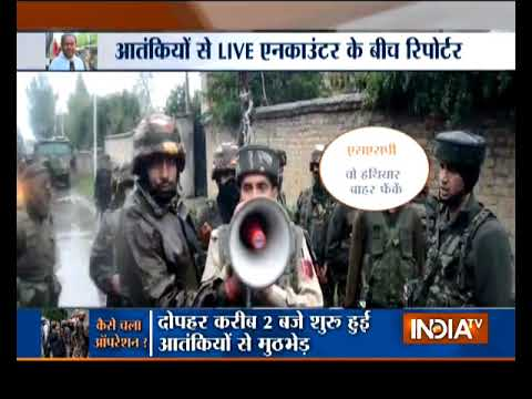 Jammu and Kashmir: 3 terrorists killed in encounter with security forces in Pulwama