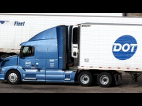 VOLVO TRUCK ~ DOT FOODS CORP - YouTube