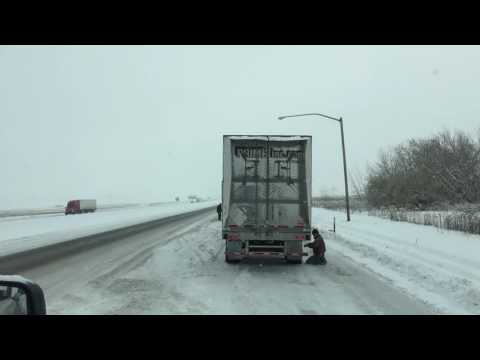 Winter Truck Driving ROUND 2; Cabbage Hill