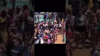 Boy dancing on cruise ship!