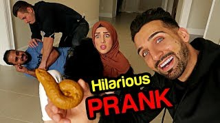 HILARIOUS PRANK ON FROGGY