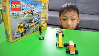 Video Unboxing Lego Creator 31060 Series Superfast Race Car (Making LEGO Racing Car) download MP3, 3GP, MP4, WEBM, AVI, FLV November 2018