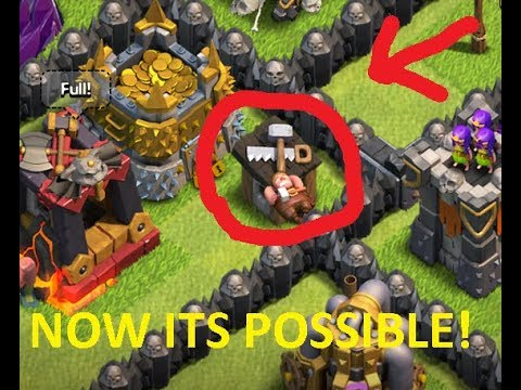 |HOW TO KEEP BUILDER OUTSIDE FROM BUILDER HUT| | BY CLASH OF CLAN  REVIEWS|