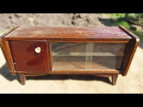 Реставрация мебели своими руками видео уроки марат ка