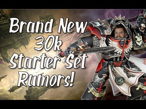 Brand New 30k Starter Set Rumors! Dark Angels Vs Night Lords