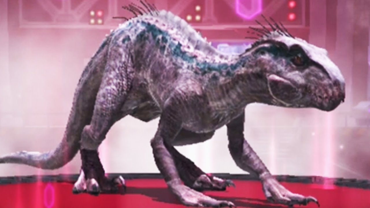 Indoraptor Gen 2 Unlocked Jurassic World Alive Youtube