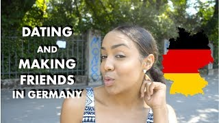 DATING AND MAKING FRIENDS IN GERMANY