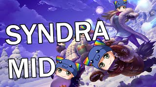 League of Legends - Snow Day Syndra Mid - Full Gameplay Commentary