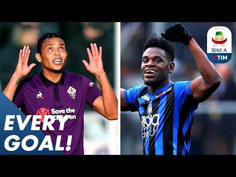 Zapata Scores FOUR, Muriel's Masterclass & Gervinho Solo Run! | EVERY Goal | Serie A