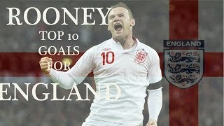 Video Rooney : Top 10 goals for England download MP3, 3GP, MP4, WEBM, AVI, FLV Agustus 2018