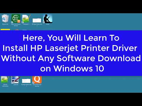 How To Install HP Laserjet 1022 Printer Driver On Windows 10 Without Downloading Any Software