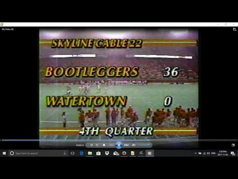 Watertown Red and Black at Ottawa Bootleggers 1989