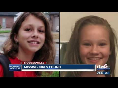 Missing Noblesville girls found