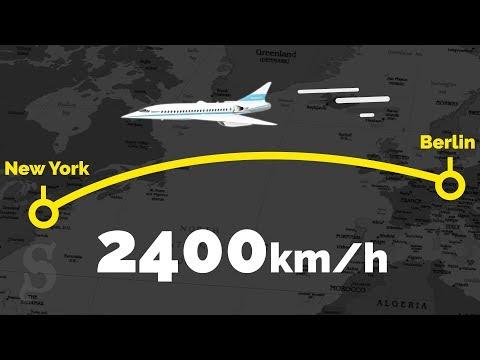 Von Berlin nach New York in 3 Stunden