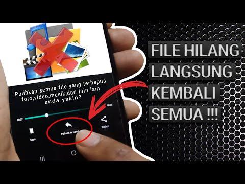 Cara Mengembalikan Semua File Yang Terhapus Di Hp Android - 100% Berhasil.