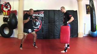 Thaiboxen- Basics- Kicks- Low Kick