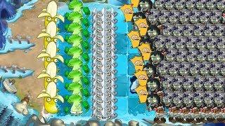 Bonk Choy and Banana Launcher vs All Zombies - Pvz 2