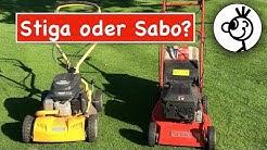 Rasenmäher von Stiga oder Sabo - Stärken und Schwächen