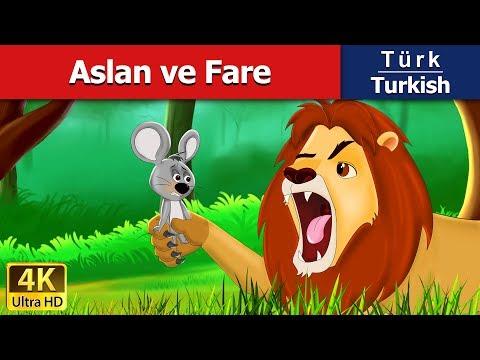Aslan ve Fare - Masal - çoçuk masalları dinle - 4K UHD - Türkçe peri masallar