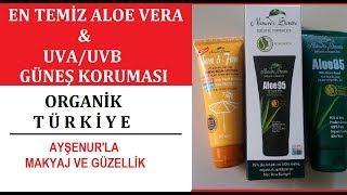 Organik Türkiye Standından Sertifikalı Aloe Vera Ve Güneş Koruması