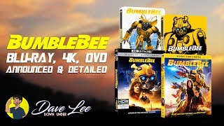 BUMBLEBEE - Blu-ray, 4K, DVD Announced & Detailed