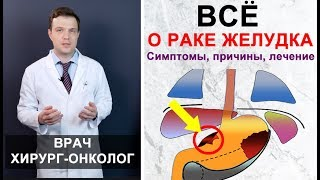 Рак желудка - симптомы, причины, лечение рака желудка. Максимально подробно