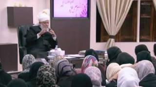 Gulshan-e-Waqf-e-Nau (Lajna) Class: 5th March 2011 (Urdu)