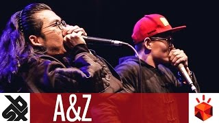 A&Z (ZHANG ZE & AH XIN) | Grand Beatbox TAG TEAM Battle 2017 | Elimination