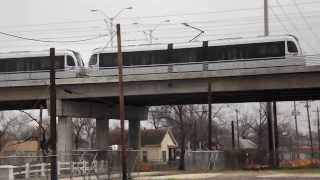 Houston MetroRail Northline Sunday 2014 02 23