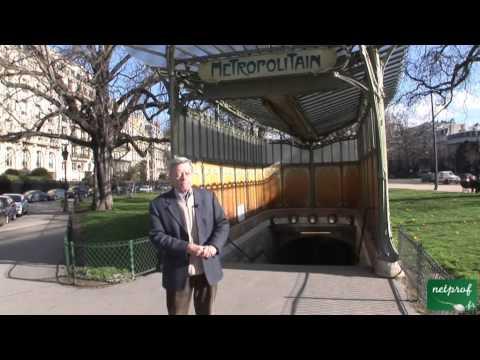 1 L'Art Nouveau de Guimard : Le Métro Porte Dauphine