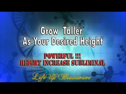 Powerful! Grow Taller As Your Desired Height   Height Increase Subliminal   432hz