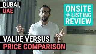 Gambar cover _Dubai Airbnb Review (Value versus price comparison)
