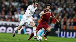 Gareth Bale VS Mohamed Salah - Amazing Speed