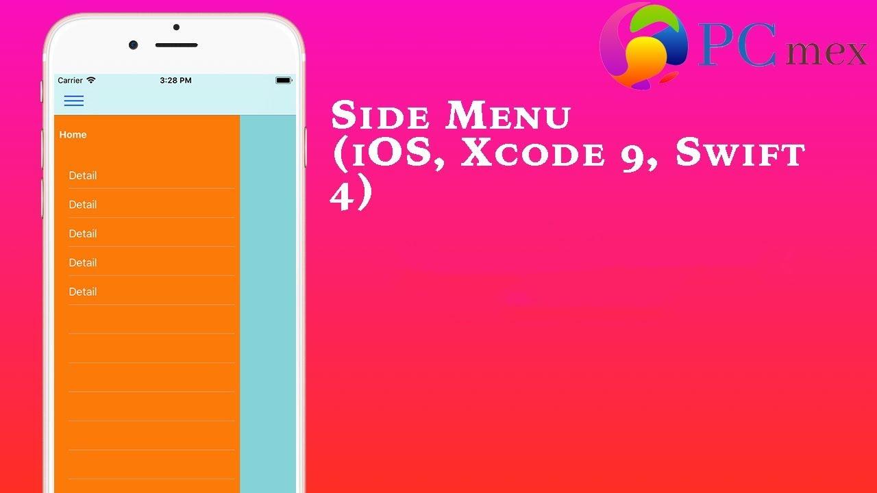 Side Menu in ios | custom side menu ( Xcode 9, Swift 4)