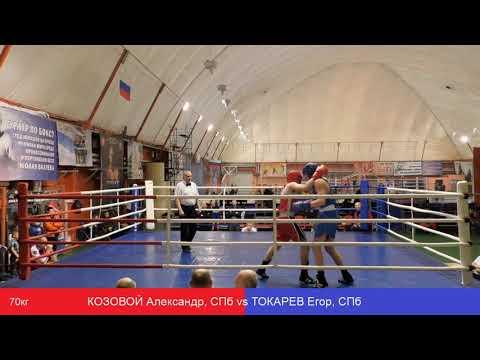 КОЗОВОЙ Александр, СПб Vs ТОКАРЕВ Егор, СПб 70кг
