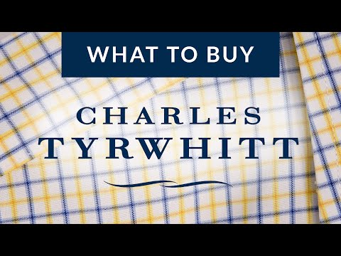 What to Buy from Charles Tyrwhitt (Plus Channel News!)