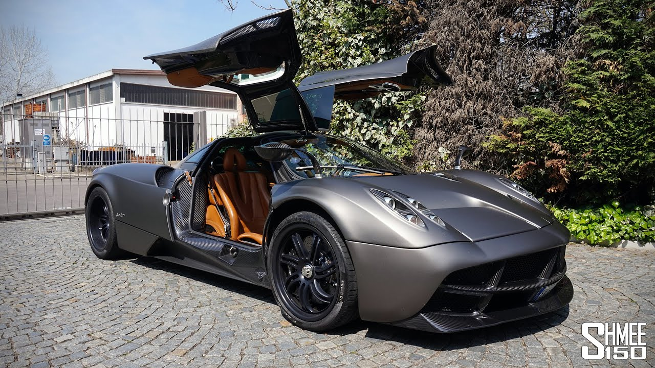 My First Drive in the Pagani Huayra [Shmee's Adventures] - YouTube