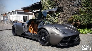 My First Drive in the Pagani Huayra [Shmee's Adventures]