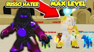 Je suis devenu UN DIEU MAX LEVEL et DEFEATED A RUSSOPLAYS HATER in GOD SIMULATOR!! (Roblox)