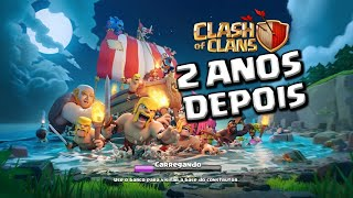 🔘MOSTRANDO A MINHA VILA NO CLASH OF CLANS APÓS 2 ANOS!!!
