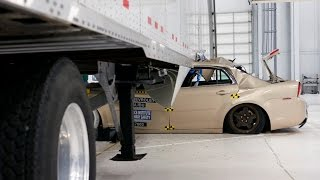 Benefits of side underride guards for semitrailers