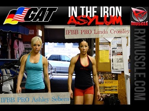 Isolator Fitness Girls IFBB Figure Pro Linda Crossley & IFBB Fitness Pro Asha Severa!