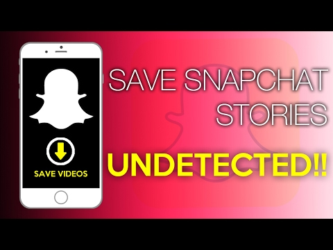 How To Save Snapchat Stories Without Person Knowing!   No Jailbreak   No PC  Dr Fone Screen Recorder