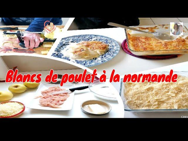 Blancs De Poulet À La Normande