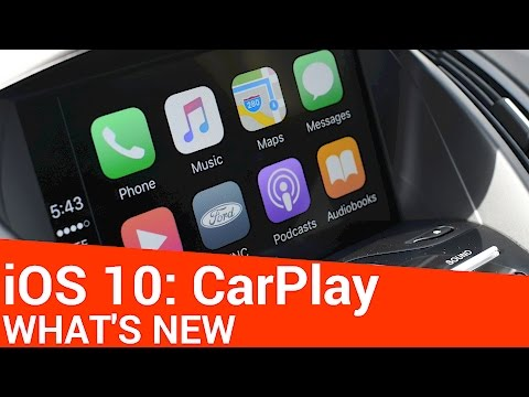 What's New with CarPlay in iOS 10